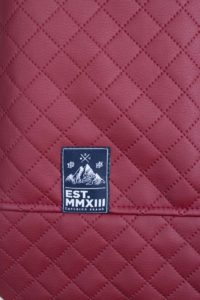 Quilted Sports Bag (Red) 5