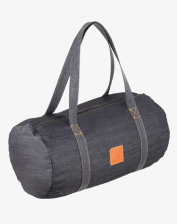 Denim Duffel Bag