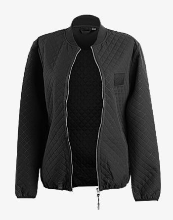 Quilted Bomber BlackOut