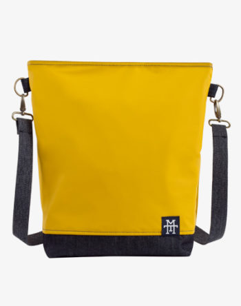Neverfull Bag Mustard Denim