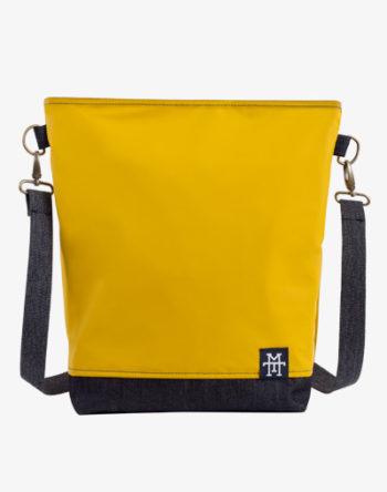 Neverfull Bag Mustard Denim
