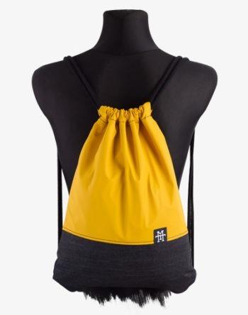 Mustard Denim Sports Bag