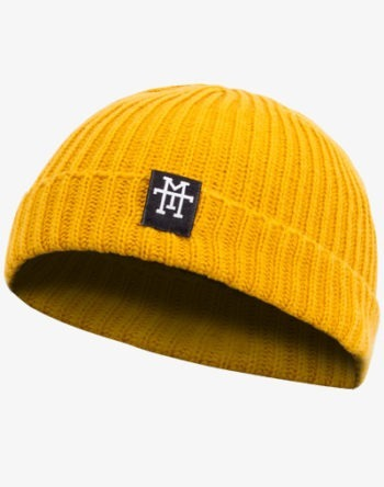 Fishermans Beanie / Mütze (Gelb/Yellow)