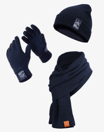 Winter Set Handschuhe Mütze Beanie Schal