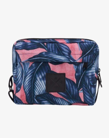 Blue Palm Pocket Bag Mini Umhängetasche Festival Bag Schultertasche Fannypack