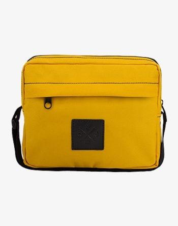 Pocket Bag, Umhängetasche, Schultertasche in Senfgelb / Mustard