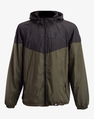 Triangle Windbreaker Jacke