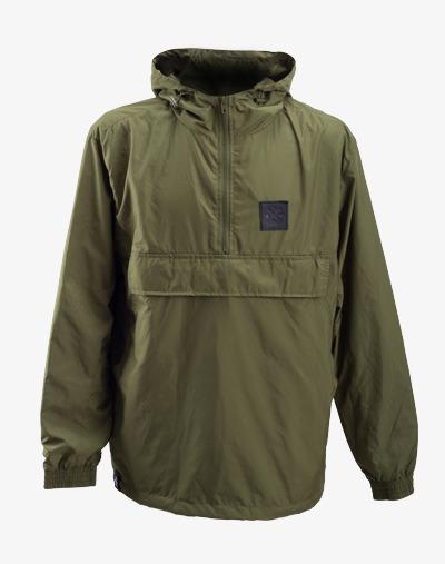 Dazzle Windbreaker Jacke, Übergangsjacke winddicht wasserabweisend grün khaki olive