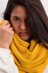 Knit Loop Mustard
