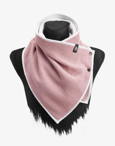 Knit Windbreaker Strickstoff Schal Halswärmer