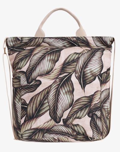 M13 Canvas Bag Palm Leaf Blumenmuster Palmen Blätter floral