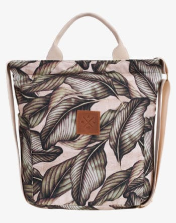 M13 Canvas Bag Palm Leaf Blumenmuster Palmen Blätter floral