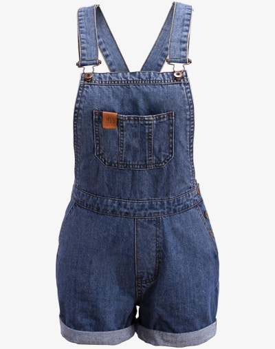 Denim Dungaree Latzhose Sommer Frauen Damen