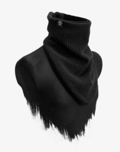 Knit Windbreaker Black Out Schal