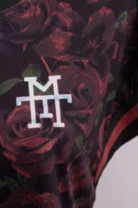 M13 Vandal Team Black Roses Taped Mesh Grid Set