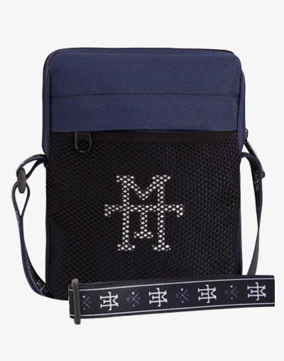 Pocket Pusher Bag Navy blau marineblau Brustbeutel Brusttasche Beltbag Bumbag wasserabweisend