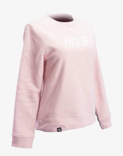 Boyfriend Crew Neck Sweater Rosé