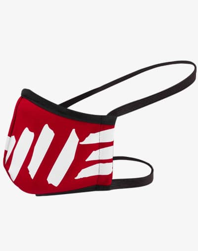 M13 Facemask Gesichtsmaske Behelfsmaske Mund und Nase Maske rot