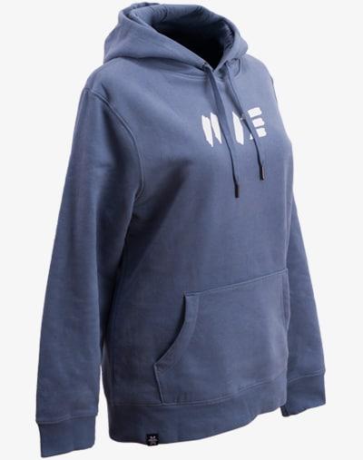 RAW Boyfriend Hoodie Purple Blue Damen / Frauen Kapuzenpullover / Pullover