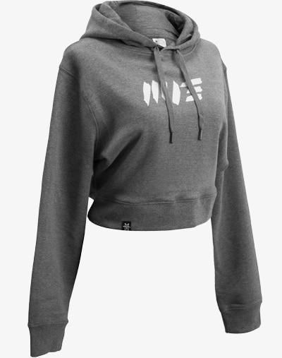 Crop Hoodie Bolero hüftfrei bauchfrei hooded sweater sweatshirt