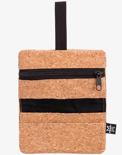 Tabaktasche Dreherbeutel Drehbeutel aus Stoff 100% Baumwolle Canvas cork kork