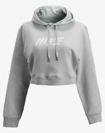 crop hoodie Cropped Hoodie Damen bauchfrei kurz crop cut