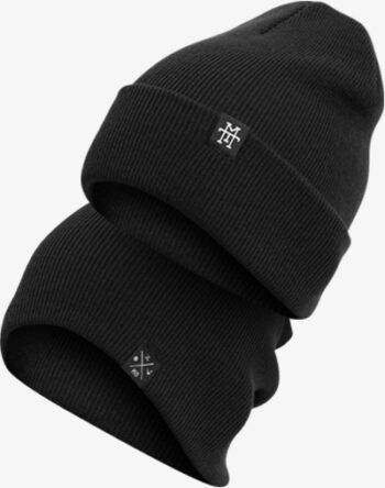 M13 Kids Double Sided Beanie Strickmütze Mütze Fishermans Slouch