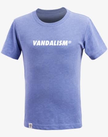 M13 Kids Vandalism T-Shirt Kinder Shirt Bright Blue blau