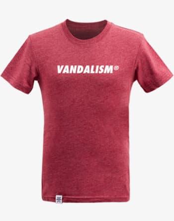 M13 Kids Vandalism T-Shirt Kinder Shirt Dark Red rot