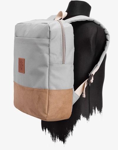 M13 Kids Mini Urban Explorer Daypack - Kinder Rucksack, Schulrucksack, wasserabweisend/wasserdicht, 10L Fassungsvermögen, geeignet für Jungs & Mädchen (Manufaktur13) (Canvas Wood 2)