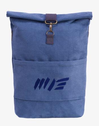 Alicante Roll-Top Backpack Rucksack Rollrucksack mit Rollverschluss zum rollen Fahradrucksack kurierrucksack großer groß wildleder alcantara