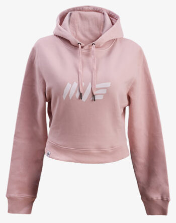crop hoodie Cropped Hoodie Damen bauchfrei kurz crop cut rosa rose pink