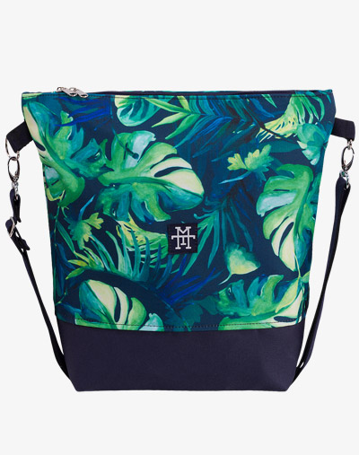 Neverfull Bag - Umhängetasche, Schultertasche vegan palmen blätter blumenmuster floral pattern palm monstera