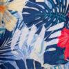 Roll-Top Backpack Rucksack Rollrucksack mit Rollverschluss zum rollen Fahradrucksack kurierrucksack großer groß vegan palmen blätter blumen blumenmuster muster floral pattern blumenmuster blumen pflanzen