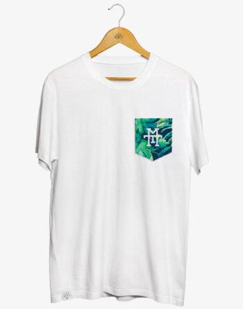 Pocket T-Shirt T-Shirt mit Brusttasche 100% Baumwolle zertifiziert Fair Trade